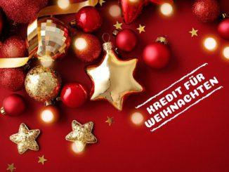 Kredit für Weihnachten in der Schweiz